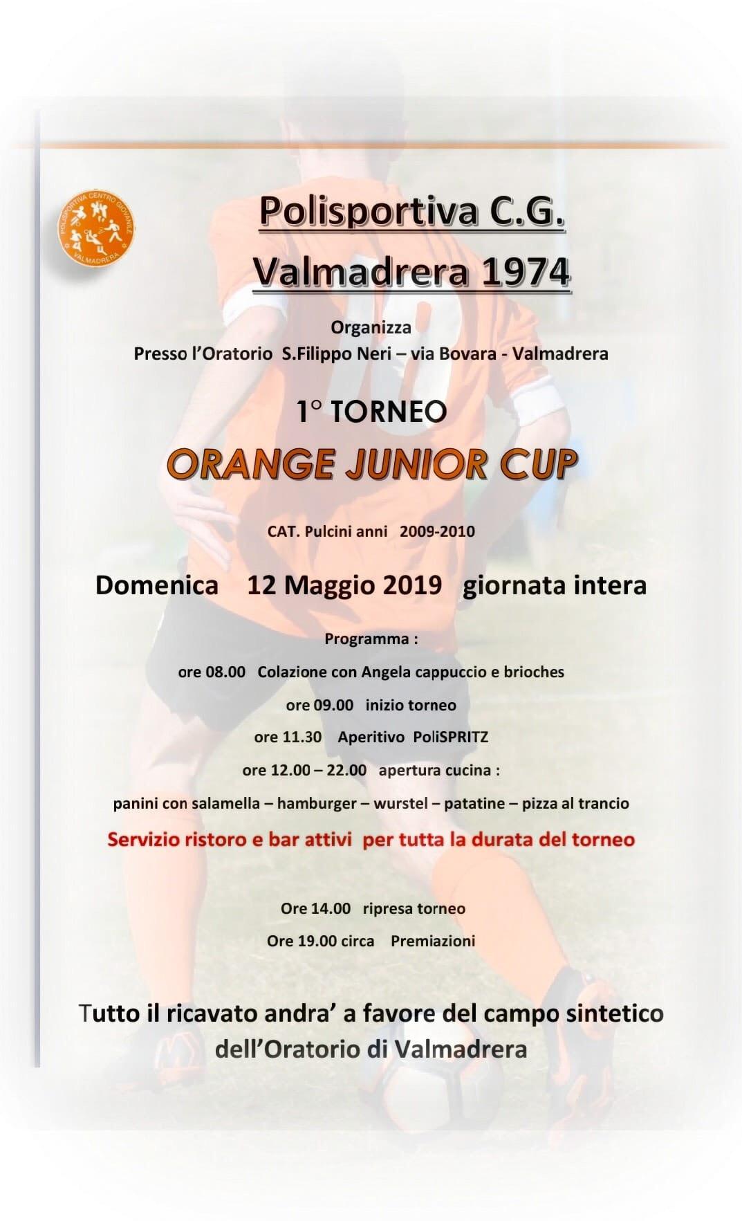 locandina orange cup 2019 polisportiva valmadrera-2