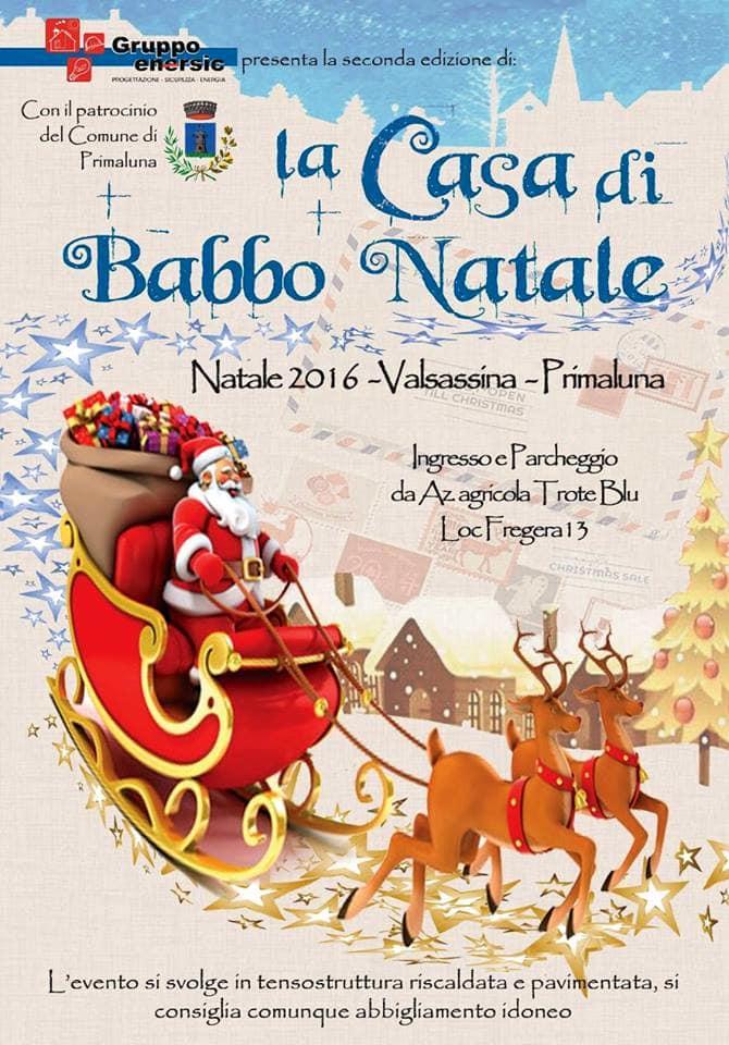 sale retailer 115e3 67a36 La Casa di Babbo Natale a Lecco Eventi a Lecco
