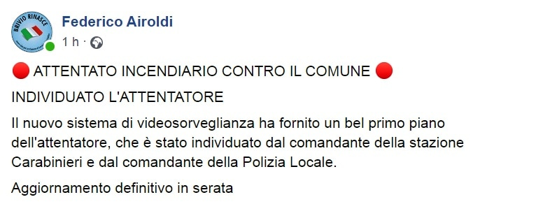 Post Airoldi attentato Brivio-2