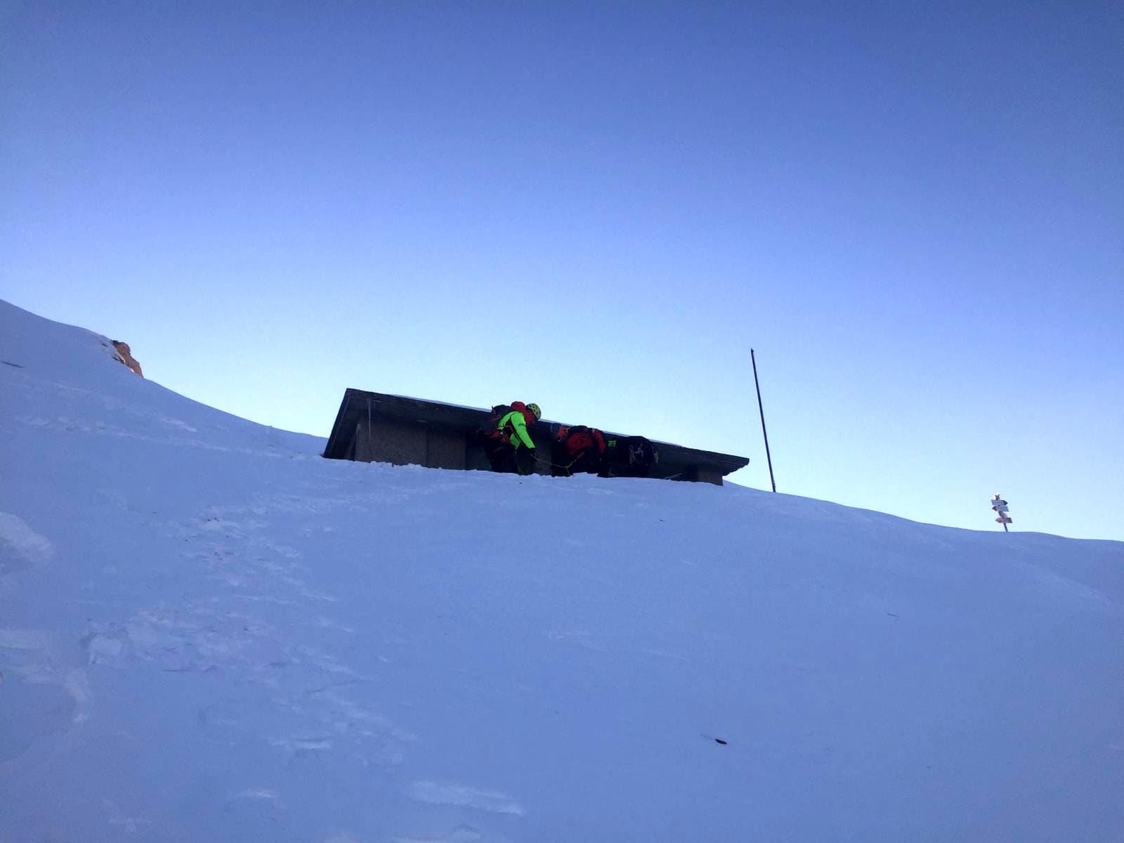 soccorso alpino bivacco merlini grignone 5 febbraio 2020-2