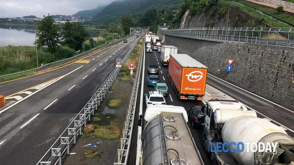 Posa Ponte di Annone traffico (3)-2