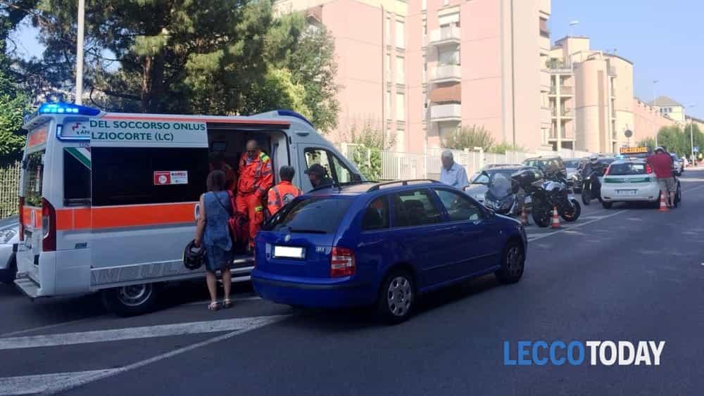 incidente auto moto via XI febbraio (2)-2