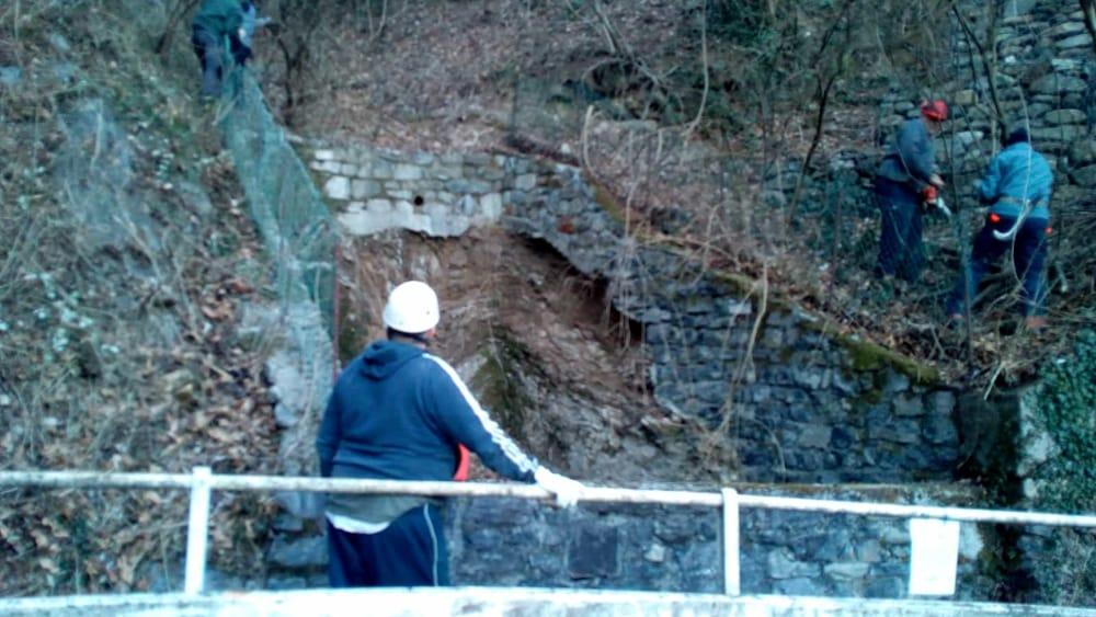 pulizia bosco alpini perledo strada vezio febbraio 2019 (4)-2