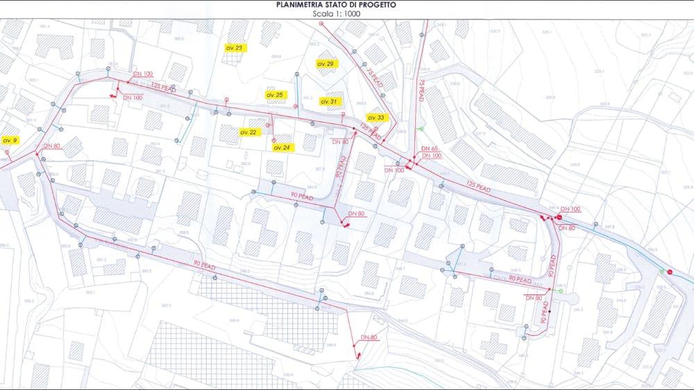 planimetria progetto acquedotto galbiate giugno 2019-2