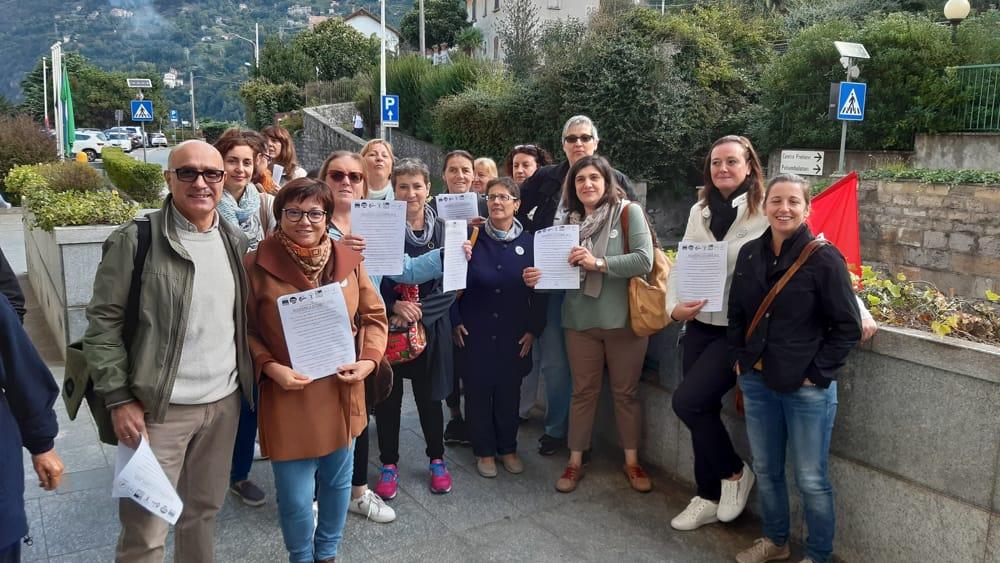 sciopero asst 4 ottobre 2019 bellano1-2