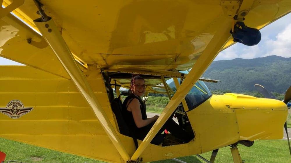 pilota per un giorno idrovolante campo dei fiori-2