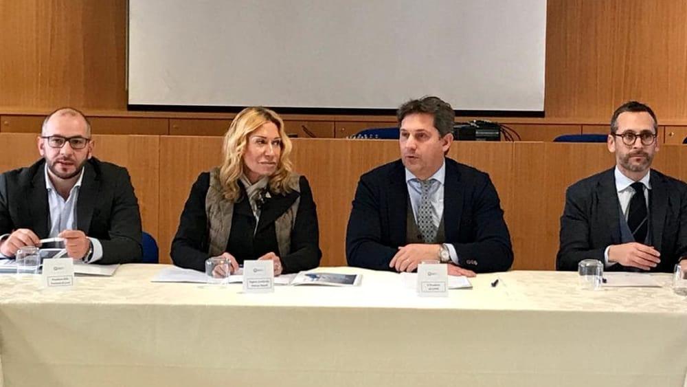 DA SX Antonio Pasquini - Melania Rizzoli- Marco Galbiati - Mauro Piazza-2