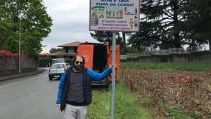 Santa Maria Hoe cartelli velocita scuole Brambilla-2