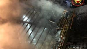 incendio casatenovo pompieri vigili del fuoco 1 febbraio 2019-2
