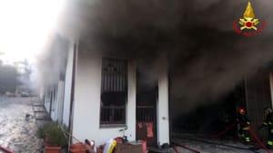 incendio Galbiate capannone (3)-2