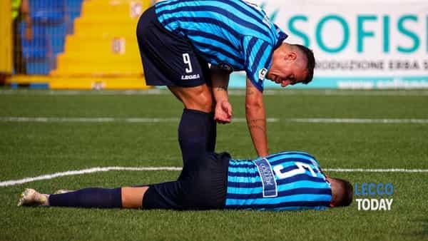 Calcio Lecco, Siena superiore: i bianconeri passano con Cesarini e Arrigoni