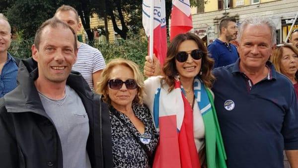 fratelli d'italia lecco roma manifestazione 19 ottobre 20193-2
