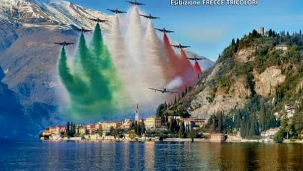 Air Show a Varenna: le Frecce Tricolori pronte a dare spettacolo sul lago