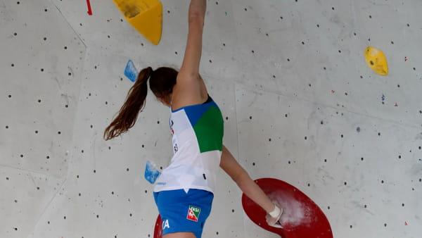 Beatrice Colli Campionato Europeo Boulder 3-2