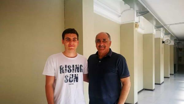 Mattia Fumagalli e prof. Occhinero-2