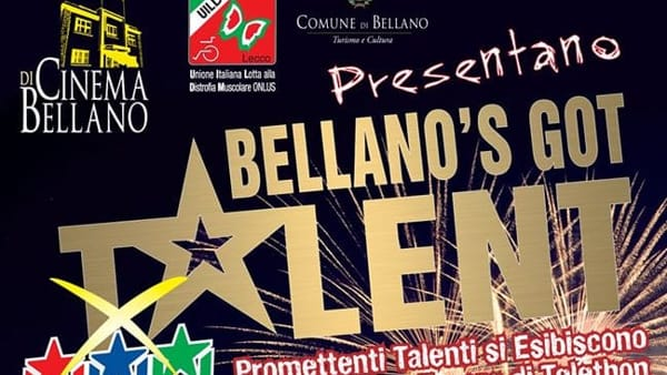 Bellano's got talent