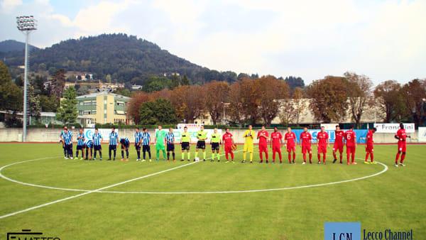 Calcio, Lecco-Virtus Bergamo