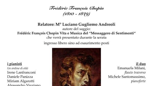 Sette pianisti e un duo per interpretare le età del genio Chopin