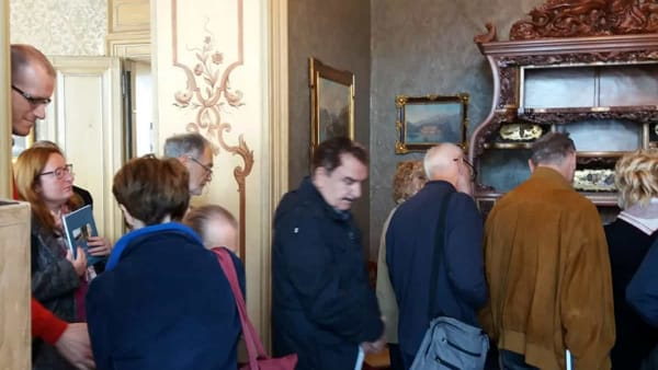 Antonio Ghislanzoni a Villa Monastero