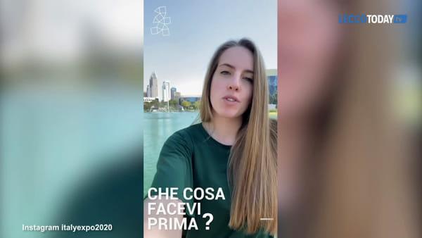 Un pezzo di Calolziocorte a Dubai: la giovane Ilaria De Capitani tra i tirocinanti di Expo 2020
