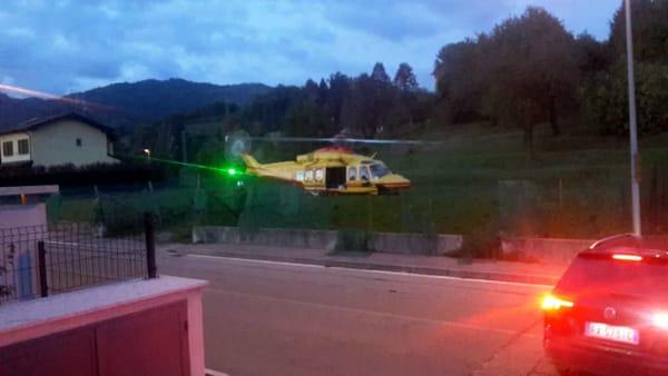 incidente calco 17 ottobre 2019 elisoccorso1 marco Scaccabarozzi-2