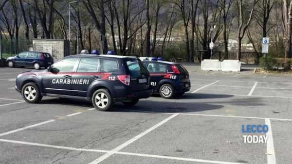 Calolzio intervento carabinieri 16 marzo 2019 bomba (2)-2