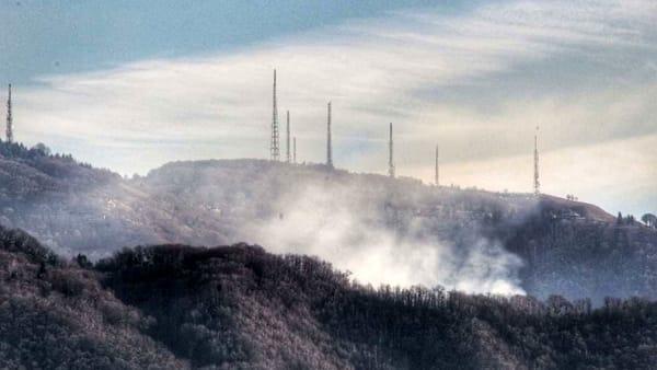 Incendio Torre - fumo Valcava-2