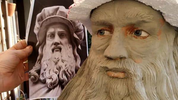 Leonardo da Vinci bozza statua-2