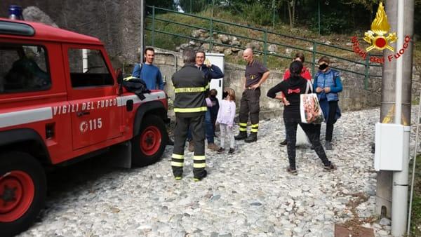 soccorso vigili del fuoco lecco maggianico 12 ottobre 20193-2