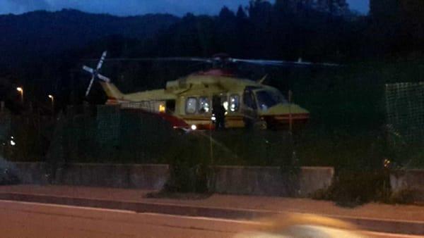 incidente calco 17 ottobre 2019 elisoccorso2 marco Scaccabarozzi-2