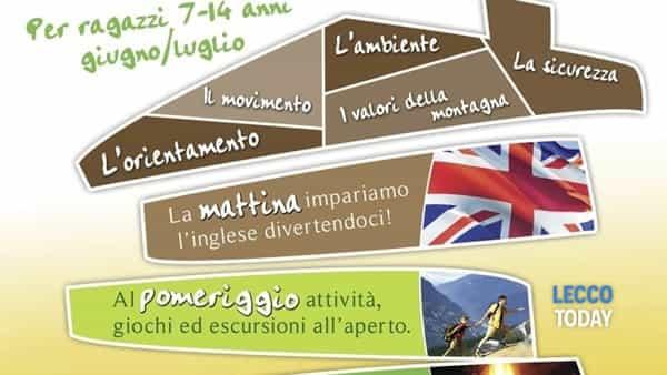 Campi estivi in lingua inglese in montagna