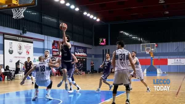 Basket: derby Lecco-Olginate al Bione