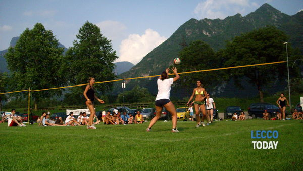 Olginate: torneo di green volley