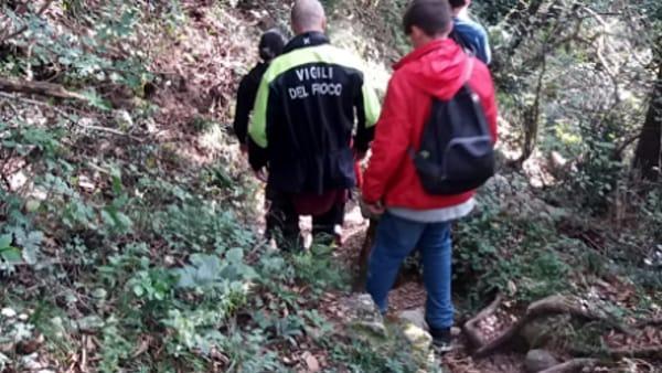 soccorso vigili del fuoco lecco maggianico 12 ottobre 20191-2
