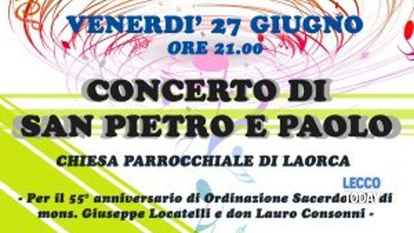 Concerto di San Pietro e Paolo