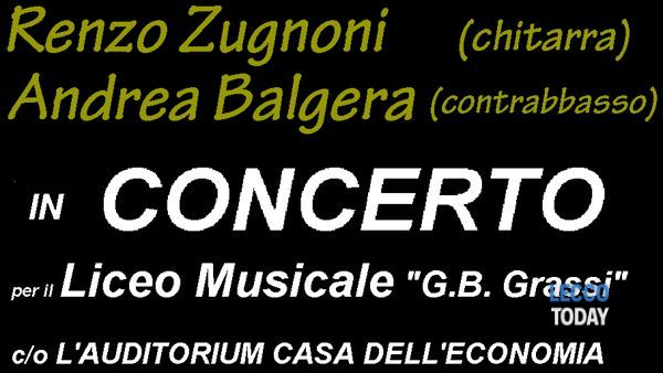 Concerto per il Liceo G.B. Grassi all'Auditorium della Camera di Commercio