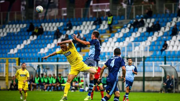 Calcio Lecco, troppo poco: l'AlbinoLeffe la sblocca subito e porta a casa i tre punti