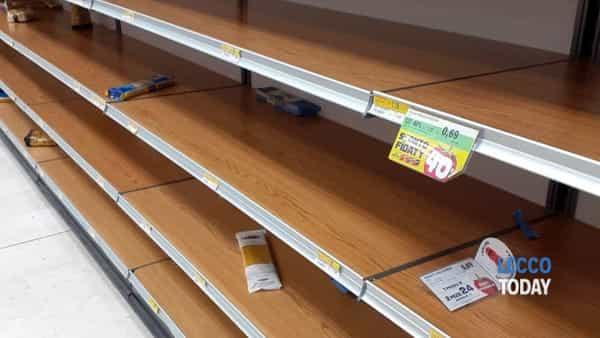 supermercato lecco coronavirus