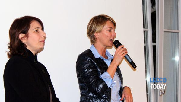 Ellen Hidding a Civate per il suo libro