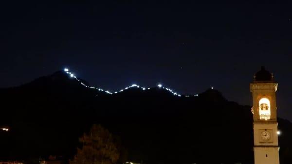 Trecento persone sul Monte Barro per festeggiare il Gruppo Podistico Libertà Galbiate
