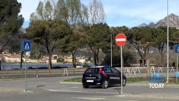 Calolzio intervento carabinieri 16 marzo 2019 bomba (4)-2