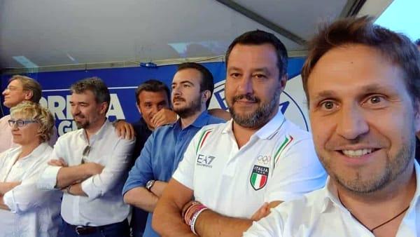 Salvini alla Lumbard Fest di Barzago: «Il governo va avanti se fa le cose»
