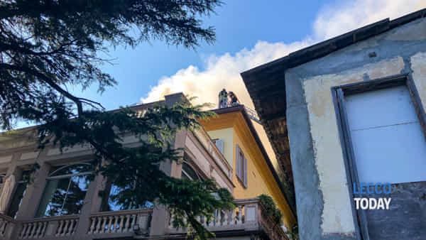 incendio villa giulia valmadrera 5 ottobre 20191-2