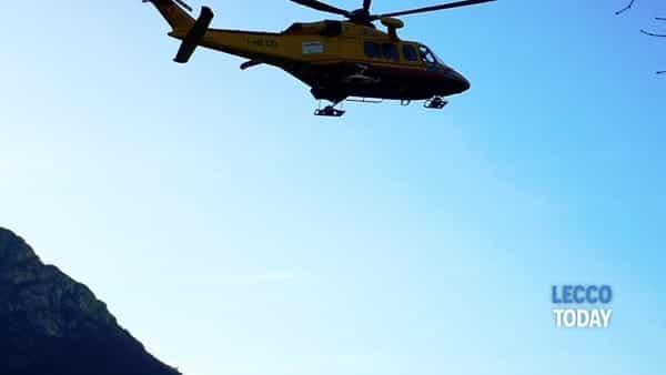 Elisoccorso elicottero Como piazzola Bione (2)-2