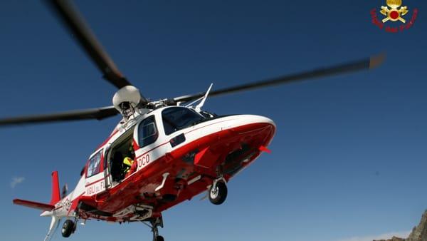 Elicottero Elisoccorso Vigili del fuoco Resegone (2)-2