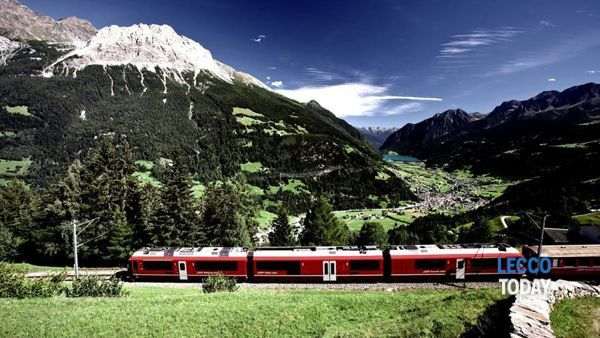 Il Trenino rosso del Bernina è lo Slow train per Expo 2015 (foto da Fb)