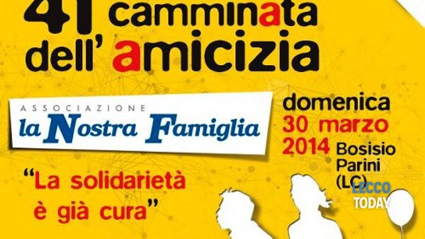41^ Camminata dell'Amicizia