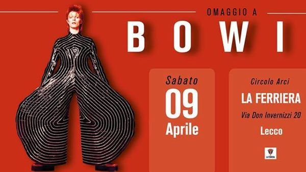 All'Arci La Ferriera il tributo a David Bowie