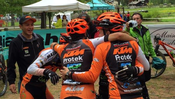 KTM Protek Dama campione nazionale team relay 2016 (3)-2