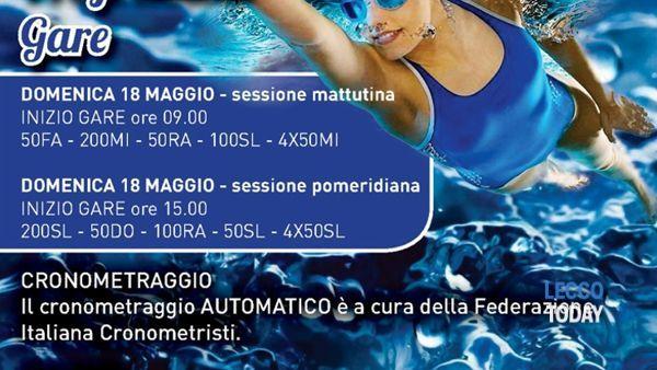 1° Master di nuoto Città di Lecco